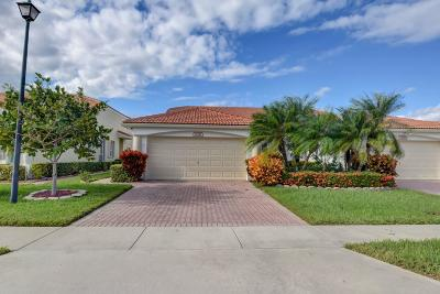 Delray Beach Single Family Home For Sale: 15321 Lake Wildflower Road