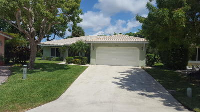 Boca Raton Single Family Home For Sale: 5984 Colony Court