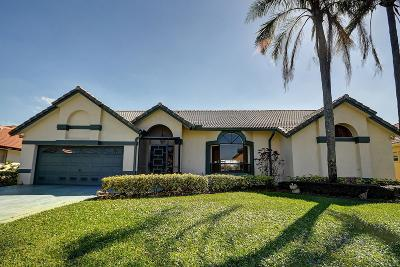 Boca Raton Single Family Home For Sale: 10170 Canoe Brook Circle