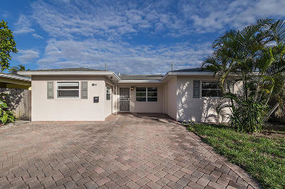 Lake Worth Single Family Home For Sale: 1814 J Terrace