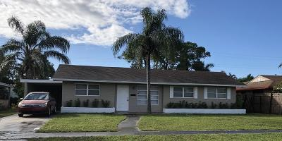west palm Single Family Home For Sale: 4872 Pine Knott Lane