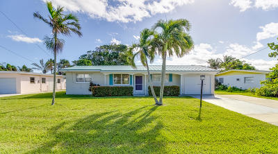Fort Pierce Single Family Home For Sale: 1919 Cypress Avenue