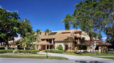 Boca Raton Single Family Home For Sale: 21125 Hamlin Drive