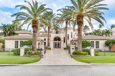 Royal Palm Yacht, Royal Palm Yacht & Cc, Royal Palm Yacht & Country Club, Royal Palm Yacht And Country Club Single Family Home For Sale: 468 E Alexander Palm Road