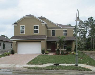 Port Saint Lucie, Saint Lucie West Single Family Home For Sale: 687 NE Moss Rose Place