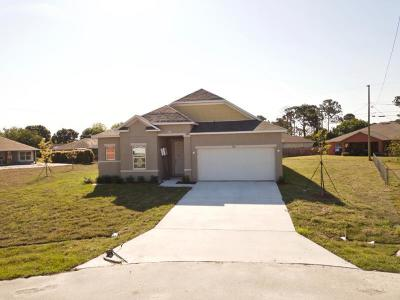 Port Saint Lucie Single Family Home For Sale: 380 SW Tahoe Court