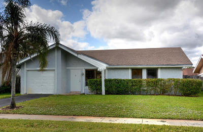 Single Family Home For Sale: 1407 SW 82 Avenue