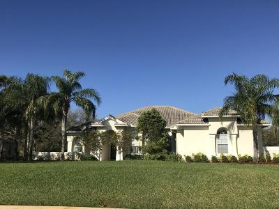Palm City Single Family Home For Sale: 5068 SW Orchid Bay Drive