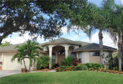 Palm City Single Family Home Contingent: 2521 SW Park Meadows Trail