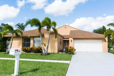 Boca Raton Single Family Home For Sale: 11455 Whisper Sound Drive