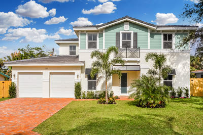 Delray Beach FL Single Family Home For Sale: $1,149,000