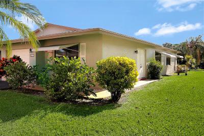 Boynton Beach Single Family Home For Sale: 1558 Palmland Drive