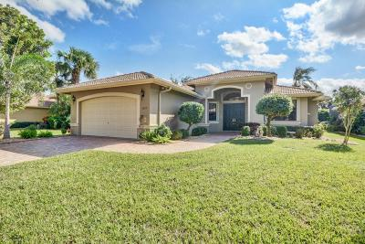 Boynton Beach Single Family Home For Sale: 7879 Via Grande
