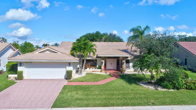 Boca Raton Single Family Home For Sale: 10295 Boca Woods Lane