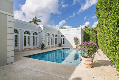 Palm Beach Single Family Home For Sale