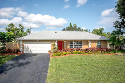 Delray Beach Single Family Home For Sale: 3655 Lakeview Boulevard
