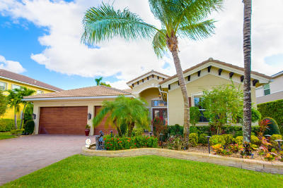Boynton Beach Single Family Home For Sale: 11939 Fox Hill Circle