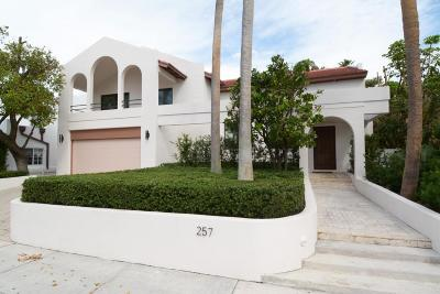 Palm Beach FL Single Family Home For Sale: $3,795,000