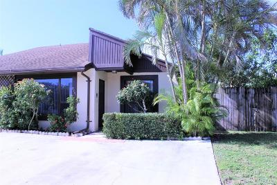 Lake Worth Single Family Home Contingent: 3751 Mil Pond Court