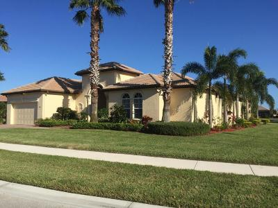 Port Saint Lucie Single Family Home For Sale: 865 SW Grand Reserve Boulevard