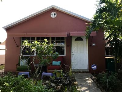 Lake Worth Single Family Home For Sale: 616 C Street