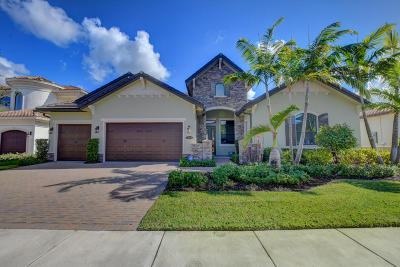 Boca Raton Single Family Home For Sale: 17654 Cadena Drive