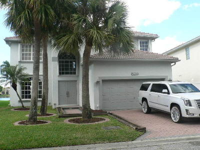 Lake Worth Single Family Home For Sale: 7681 Northtree Way