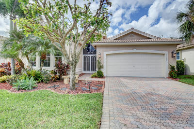Boynton Beach Single Family Home For Sale: 11181 Kapalua Way