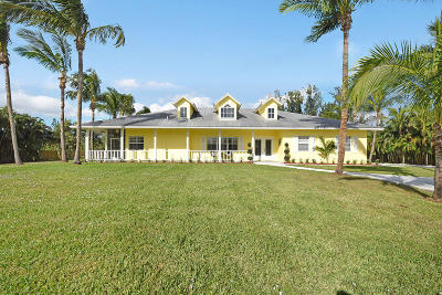 Jupiter Single Family Home For Sale: 9175 154th Road