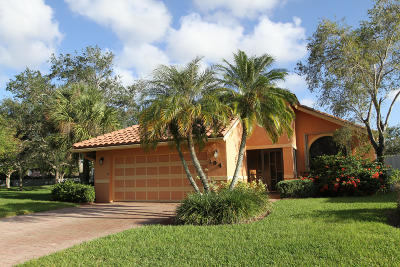 Boynton Beach Single Family Home For Sale: 194 Citrus Trail Circle