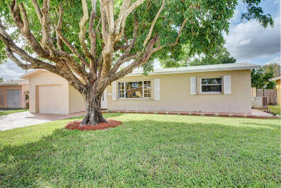 Deerfield Beach Single Family Home For Sale: 157 SE 6th Avenue