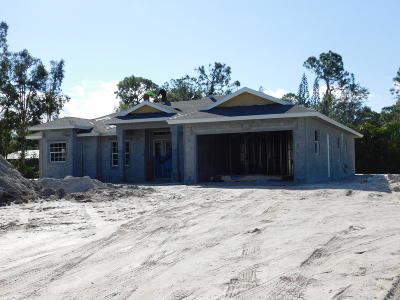Jupiter Single Family Home Contingent: 13104 158th Street