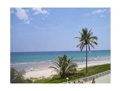 Highland Beach Condo For Sale: 3301 S Ocean Boulevard #303
