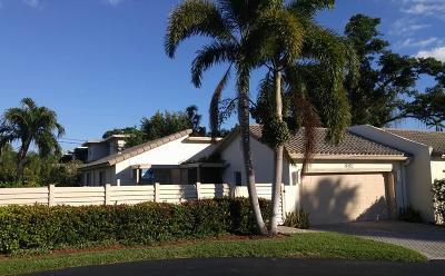 Boca Raton Single Family Home For Sale: 892 Camino Gardens Lane