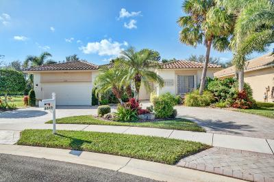 Lake Worth Single Family Home For Sale: 6555 Boticelli Drive