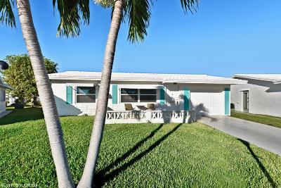 Boynton Beach Single Family Home Contingent: 2127 SW Park Drive