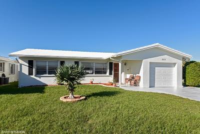 Boynton Beach Single Family Home For Sale: 622 SW 21st Circle