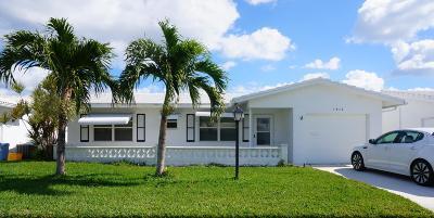 Boynton Beach Single Family Home For Sale: 1512 SW 21st Street