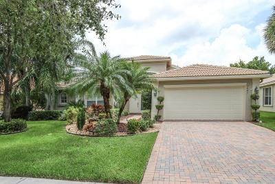Lake Worth Single Family Home For Sale: 7647 Tarpon Cove Circle