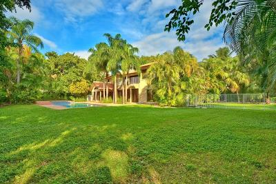 Broward County, Palm Beach County Single Family Home For Sale: 1221 Cocoanut Road
