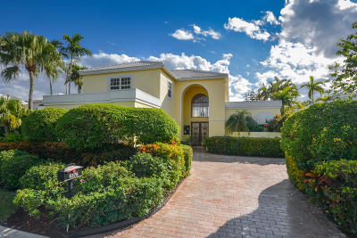 Boca Raton Single Family Home For Sale: 5376 Ascot Bend