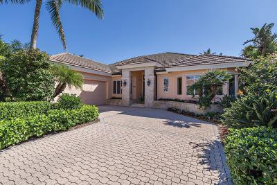 Jupiter Single Family Home For Sale: 3220 W Channel Circle