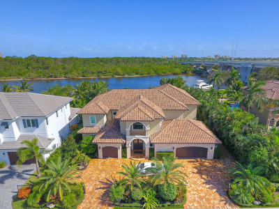 Palm Beach Single Family Home For Sale: 14062 Paradise Point Road