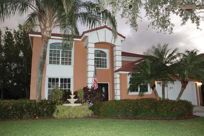 Jupiter Single Family Home For Sale: 446 Oriole Circle