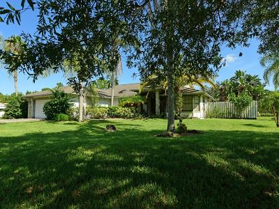 Jupiter Single Family Home For Sale: 2491 SE Tailwind Road