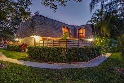 Palm Beach Gardens Townhouse For Sale: 1408 14th Terrace