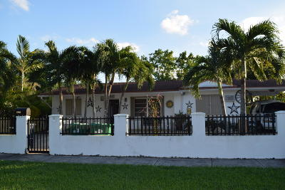 Miami Single Family Home Contingent: 11960 SW 34th Street