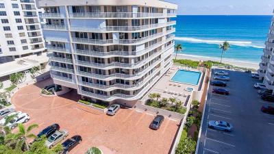 Highland Beach Condo For Sale: 3211 S Ocean Blvd. #802