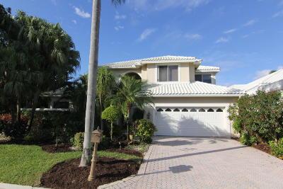 Boca Raton Single Family Home For Sale: 5840 Bridleway Circle