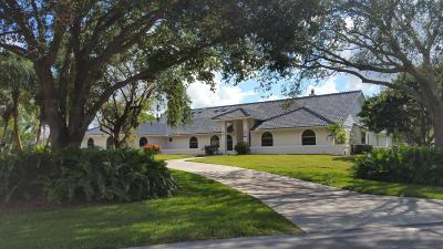 Palm Beach County Single Family Home For Sale: 15950 Britten Lane